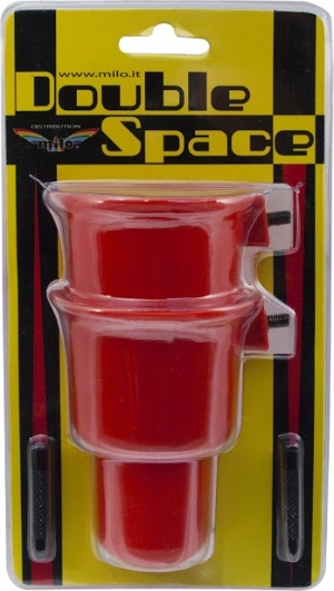 Kubek Zanętowy DOUBLE SPACE RED 2szt. Milo 627VV0051