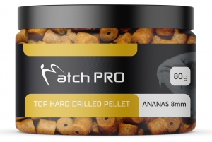 TOP HARD Ananas 8mm DRILLED Pellet MatchPro  80g