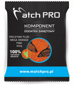 Pieczywo TOP FLUO MEGA ORANGE FINE MatchPro 400g