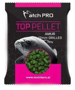 AMUR 12mm DRILLED Pellet MatchPro 700g