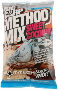 BIG CARP METHOD Sweet Coconut Zanęta Bait-Tech 2kg 2500016