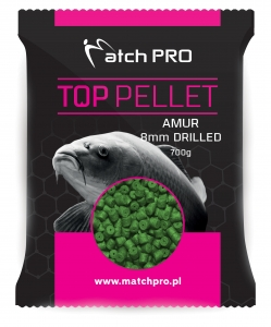 AMUR 8mm DRILLED Pellet MatchPro 700g