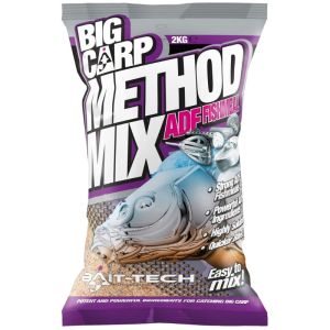 BIG CARP METHOD ADF FISHMEAL Zanęta Bait-Tech 2kg