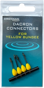 DACRON CONNECTORS Medium Yellow Drennan 4szt. Kod: TODCY003
