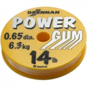 Power Gum CLEAR 0,65mm 10mt Drennan LCPG143