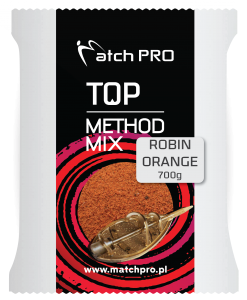 ROBIN ORANGE METHODMIX Zanęta Matchpro 700g