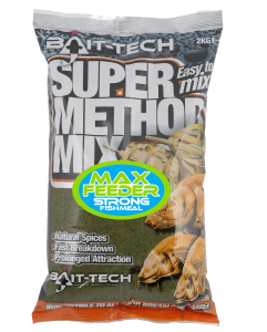SUPER METHOD MIX MAX FEEDER Zanęta Bait-Tech 2kg
