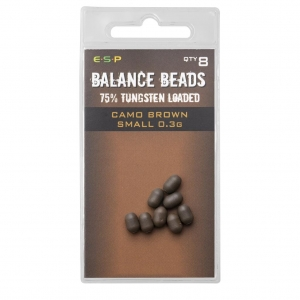 Koraliki BALANCE BEADS BROWN 8szt. ESP