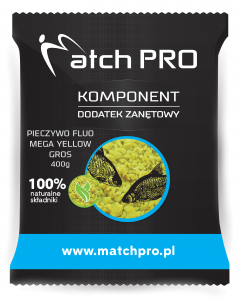 Pieczywo TOP FLUO MEGA YELLOW GROS MatchPro 400g