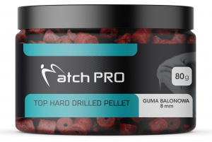 TOP HARD GUMA BALONOWA 8mm DRILLED Pellet MatchPro 80g