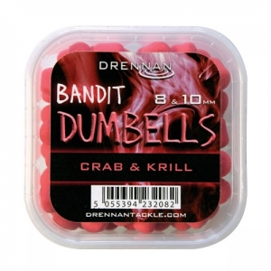 Pellet Method DUMBELLS 8/10mm Crab&Krill Drennan Kod: TBBD810CK