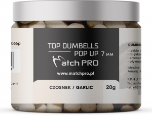 TOP DUMBELLS POP-UP GARLIC 7mm / 20g MatchPro