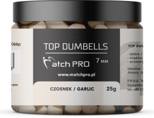 TOP DUMBELLS GARLIC 7mm / 25g MatchPro