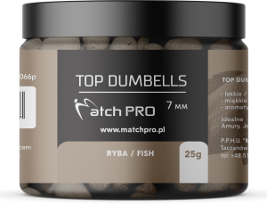 TOP DUMBELLS FISH 7mm / 25g MatchPro