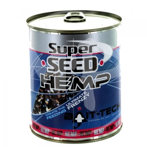 SUPERSEED HEMP Bait-Tech 350g Konopie Gotowane 2500020