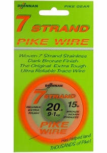 Linka Stalowa 7 Strand Pike Wire 15mt Drennan