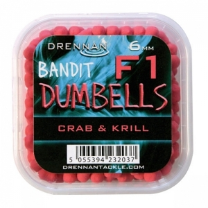 Pellet Method DUMBELLS F1 6mm Crab&Krill Drennan Kod: TBFD06CK