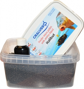 Pellet Halibut 400g + Liquid 50ml Cralusso Kod: 2815