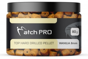 TOP HARD Wanilia 8mm DRILLED Pellet MatchPro  80g