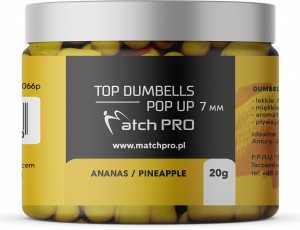 TOP DUMBELLS POP-UP PINEAPPLE 7mm / 20g MatchPro