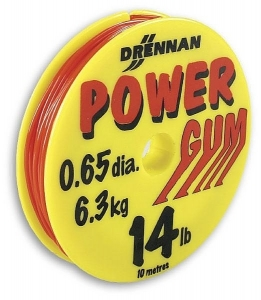Amortyzator Power Gum Red 0,65mm 10mt Drennan