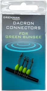 DACRON CONNECTORS Small Green Drennan 4szt. Kod: TODCG002