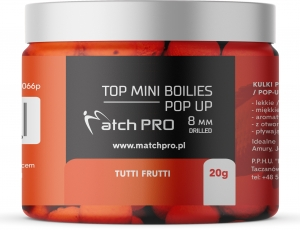 TOP BOILIES Kulki POP UP TUTTI FRUTTI 8/20 MatchPro