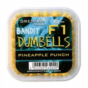 Pellet Method DUMBELLS F1 6mm Pineapple Drennan Kod: TBFD06PP