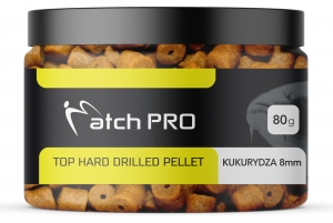 TOP HARD KUKURYDZA 8mm DRILLED Pellet MatchPro  80g