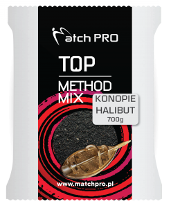 BLACK HALIBUT & KON METHODMIX Zanęta Matchpro 700g