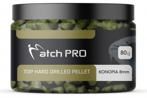 TOP HARD Konopia 8mm DRILLED Pellet MatchPro  80g
