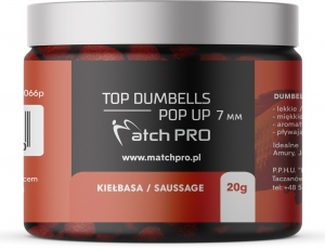 TOP DUMBELLS POP-UP SAUSSAGE 7mm / 20g MatchPro