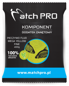 Pieczywo TOP FLUO MEGA YELLOW FINE MatchPro 400g