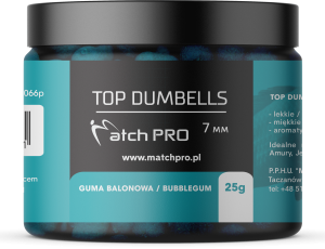 TOP DUMBELLS BUBBLEGUM 7mm / 25g MatchPro