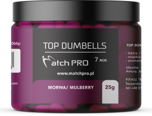 TOP DUMBELLS MULBERRY 7mm / 25g MatchPro