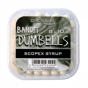 Pellet Method DUMBELLS 8/10mm Scopex Drennan Kod: TBBD810SS